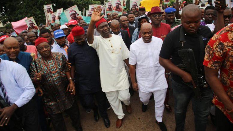 Ekweremadu gets rousing reception in Enugu